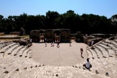 Amfiteatr - obecnie również odbywają się tu koncerty