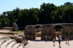 Amfiteatr był rozbudowany za czasów rzymskich