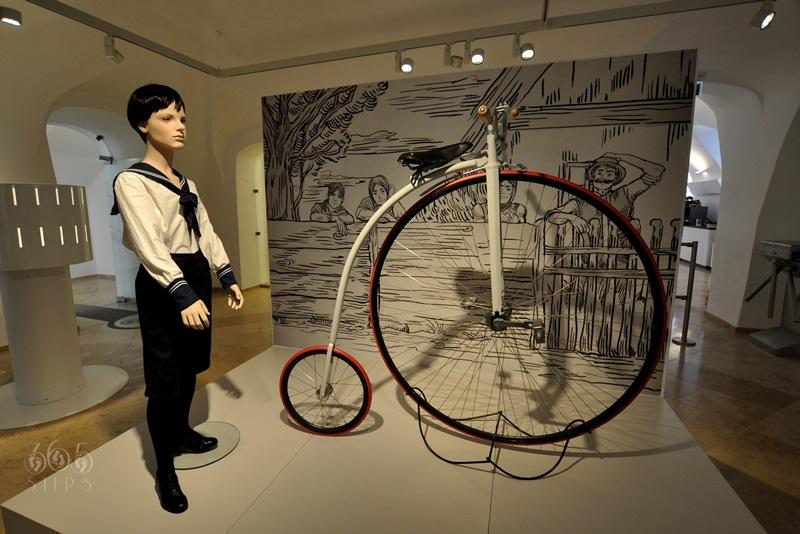 bicykl, stary rower,muzeum podróżowania Keszthely, muzeum podróżników,