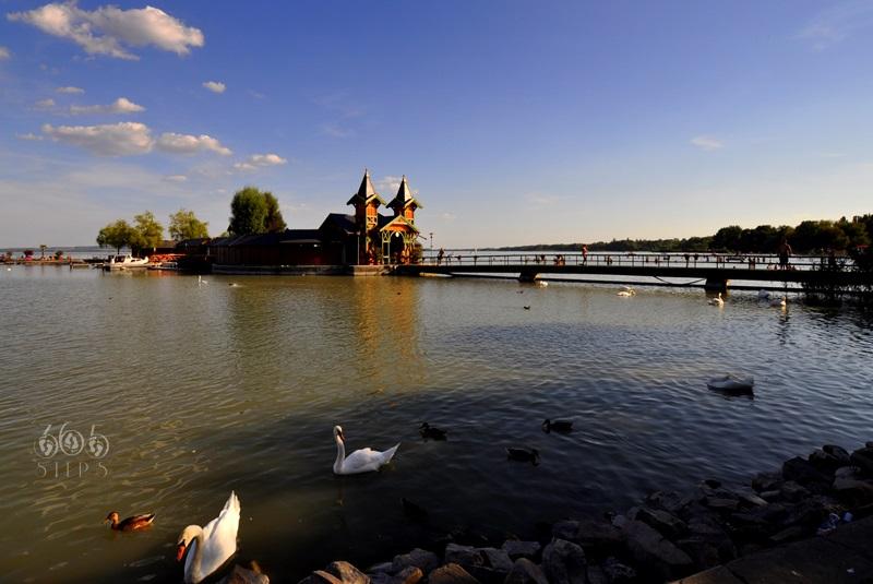 molo w Keszthely, balaton