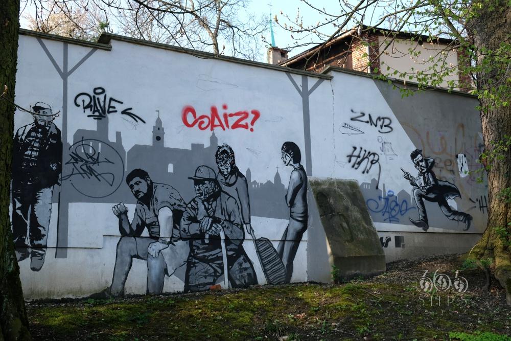 graffiti w Cieszynie